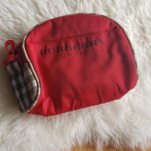 Burberry golf makeup  clutch
